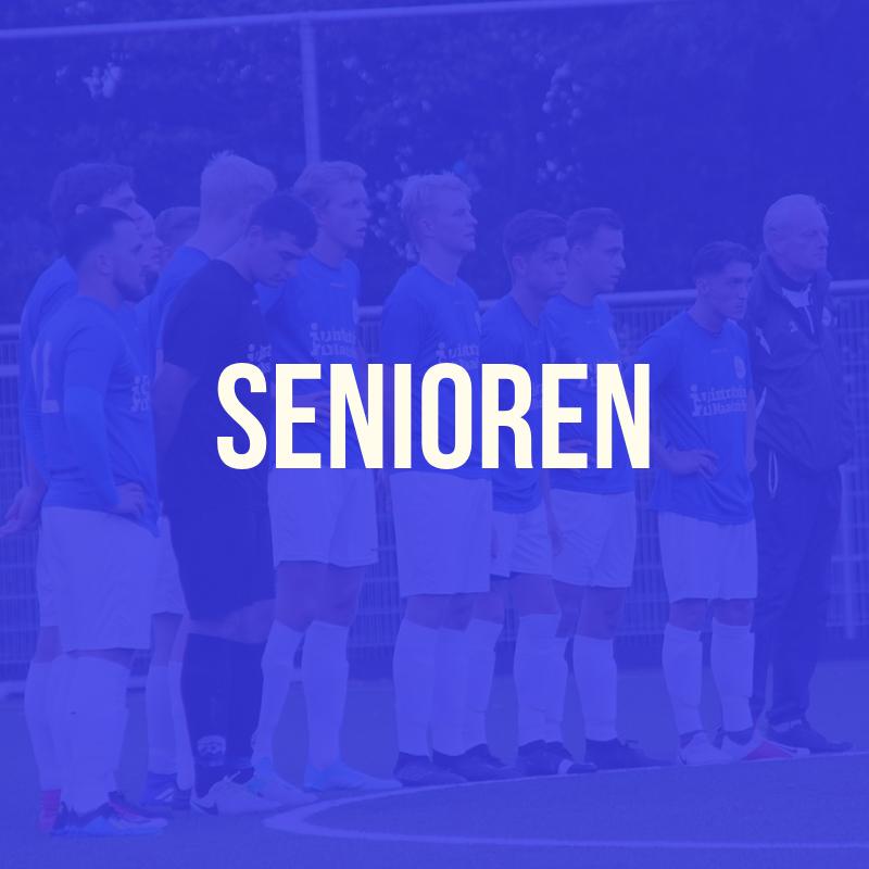 Programma senioren zondag 27 oktober 2019