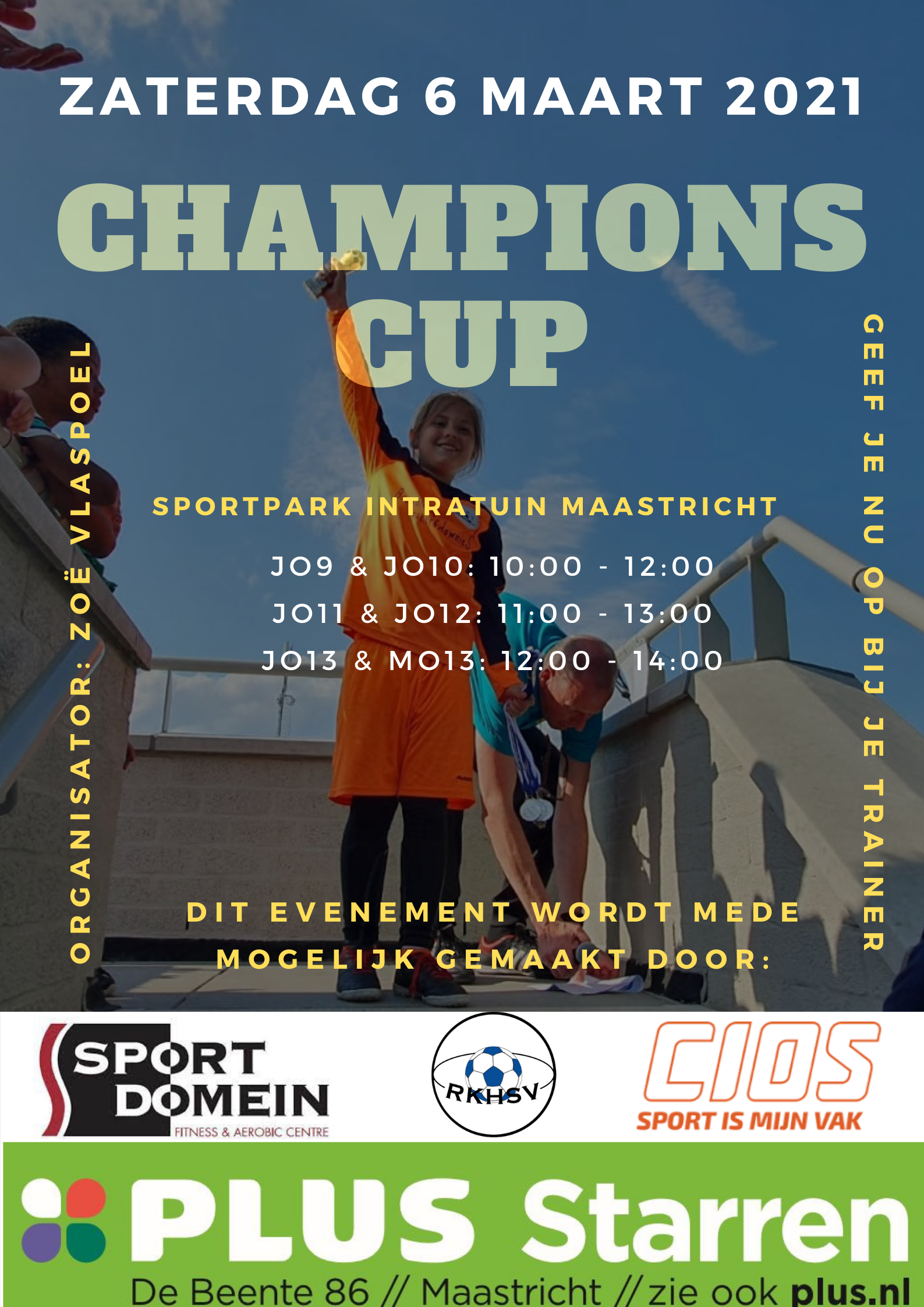 Teamindelingen Champions Cup