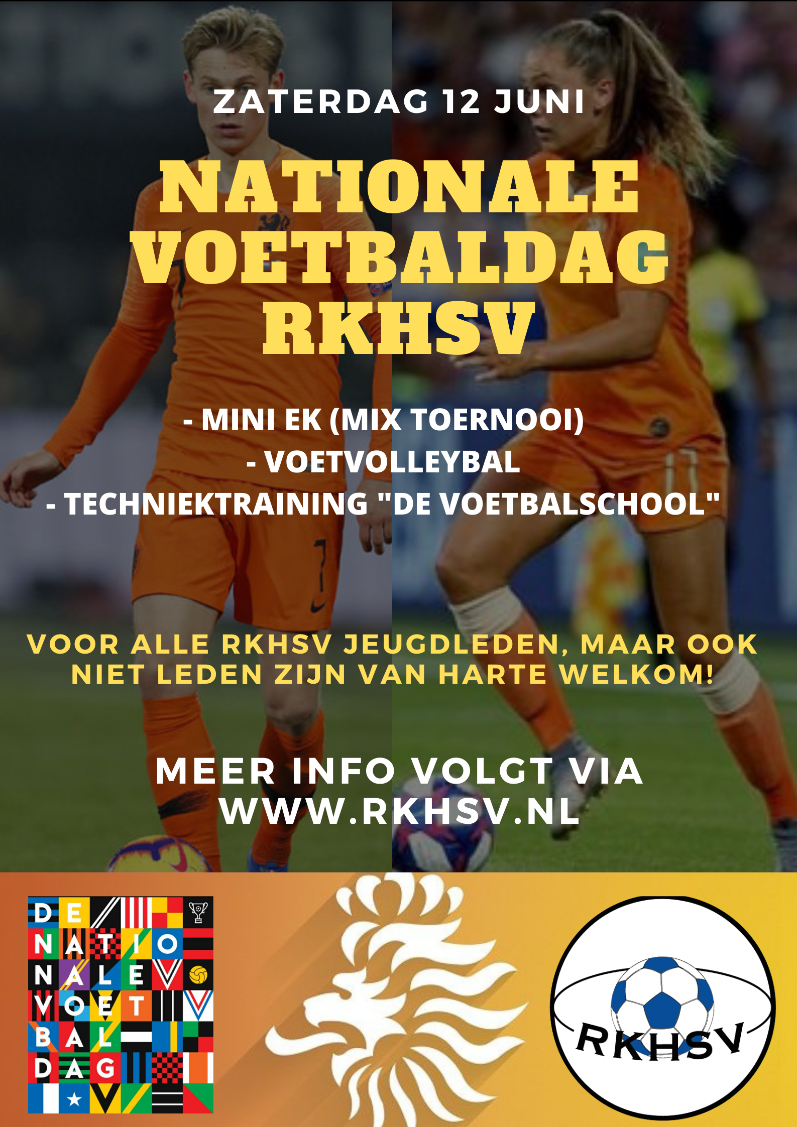 Nationale Voetbaldag RKHSV