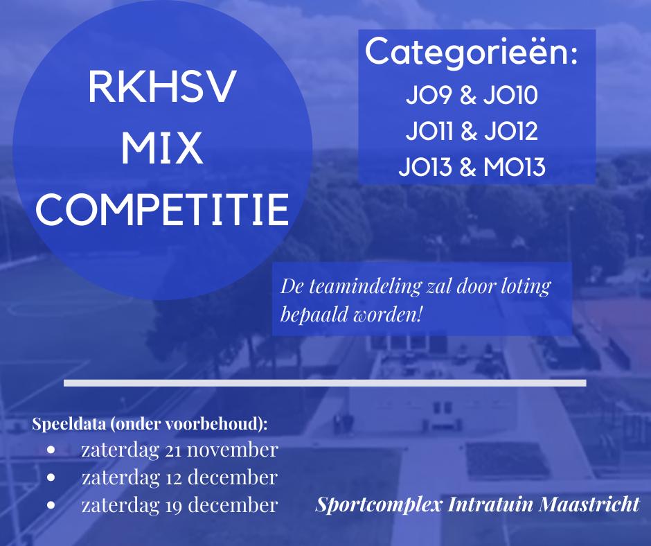 Tussenstand RKHSV Mix Toernooi na speelronde 3