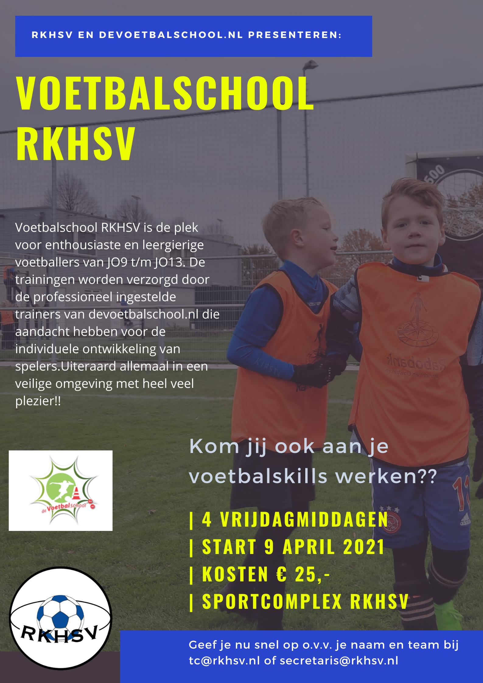 RKHSV Voetbalschool